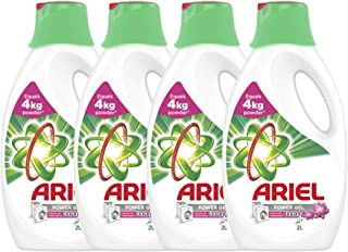 Ariel Automatic Power Gel Laundry Detergent, Touch of Freshness Downy, 4 x 2 Litre