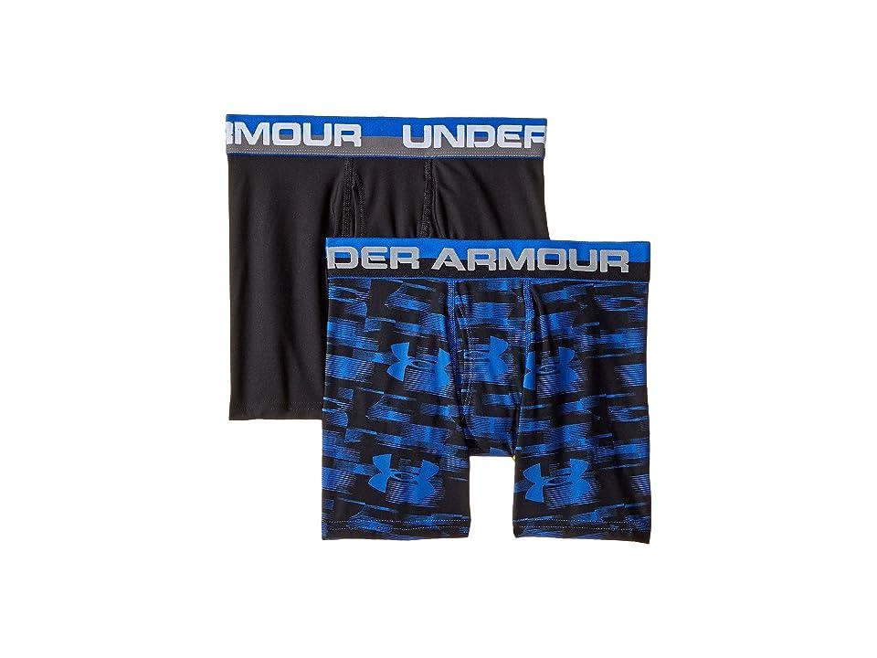 Under Armour Kids - Under Armour Kids 2 Pack UA Blur Boxer Brief