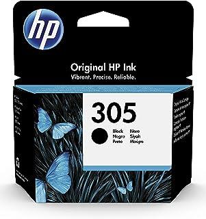 HP 305 3YM61AE, Negro, Cartucho Original de Tinta, Compatible con impresoras de inyección de Tinta HP DeskJet Serie 2700, ...
