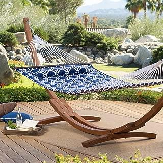 island bay 13 ft hampton lattice quilted hammock