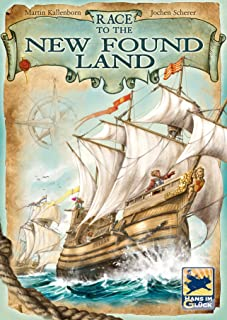 University Games Current Edition Race to The New Found Land Board Game, Multi-Colored