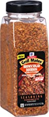 McCormick Grill Mates Brown Sugar Bourbon Seasoning, 27 oz - One 27 Ounce Container of Brown Sugar Bourbon Seasoning Made of Molasses, Red Bell Peppers, and More for Steak, Poultry, and Vegetables