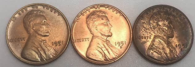 1951 lincoln wheat penny