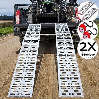 Soglia Auto Automatica 50x27x7cm Rampa di Plastica Rampa per Cordolo Portatile con Superficie Strutturata per Gradini di Altezza 6-8 Cm