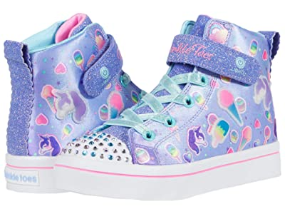 SKECHERS KIDS Twinkle Toes Twi-Lites 2.0 314420L (Little Kid) (Light Blue/Multi) Girl