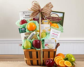 Fresh Fruit and Favorites Gift Basket by Wine Country Gift Baskets