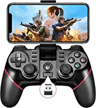 Mobile Game Controller, Bluetooth & 2.4G Wireless Gamepad Gaming Joystick for Android Phone/ PC Windows/ Smart TV/ TV Box/... photo