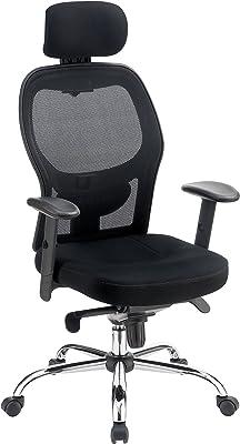 247SHOPATHOME Maisha Office Chair, Black