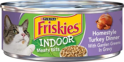 Purina Friskies Indoor Adult Wet Cat Food – (24) 5.5 oz. Cans