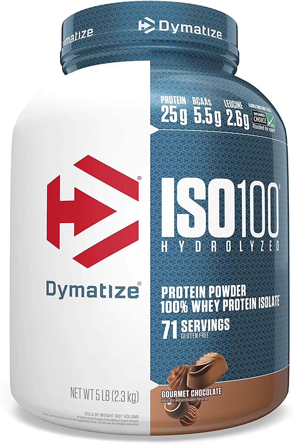 Dymatize Nutrition ISO 100 Whey Chocola Ranking Directly managed store TOP4 Protein Powder Gourmet