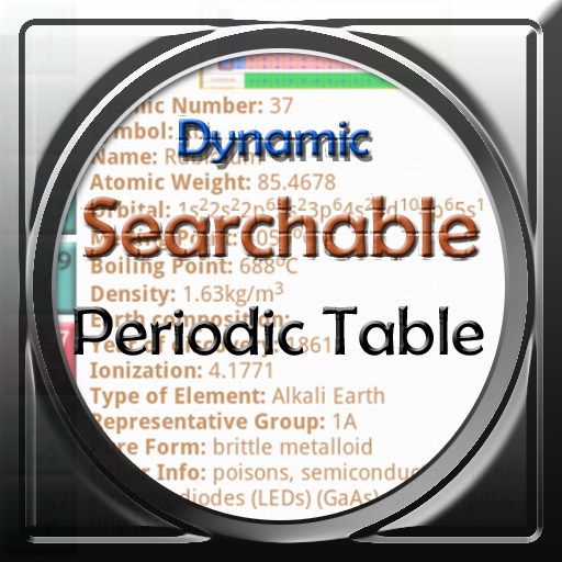 Chemistry: Periodic Table, Test and Dynamic Searchable Periodic Table (for Kindle, Tablet & Phone)