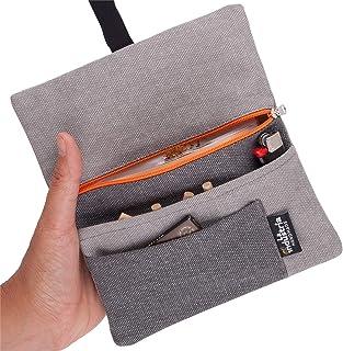 Astuccio portatabacco handmade - Porta tabacco Stoffa con scomparti per tabacco, cartine, filtri e accendino