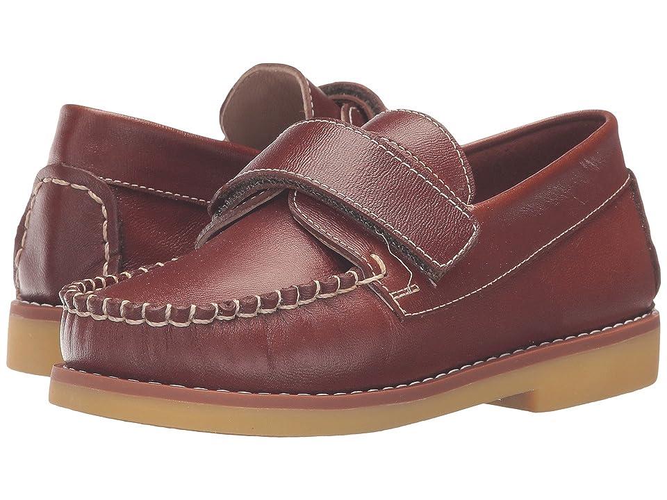 Elephantito Nick Boating Shoe (Toddler/Little Kid/Big Kid) (Brown) Boy