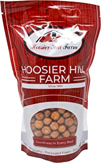 Chocolate Covered Gluten Free Pretzel Rounds with salted caramel, by Hoosier Hill Farm, (2 lb bag) Made in USA