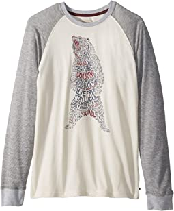 Lucky Bear Long Sleeve Thermal Tee (Big Kids)