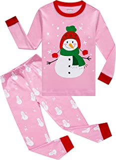 Family Feeling Pajamas Sets Little Big Girls Boys 100% Cotton Kids PJS