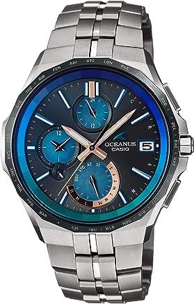 [カシオ]CASIO 腕時計 オシアナス Manta Bluetooth 搭載 電波ソーラー 15th Aniversary Limited OCW-S5000C-1AJF メンズ