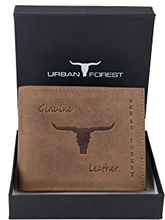 URBAN FOREST Alabama Tobacco Men's Leather Wallet