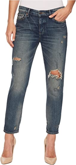 Sienna Slim Boyfriend Jeans in Adriatic