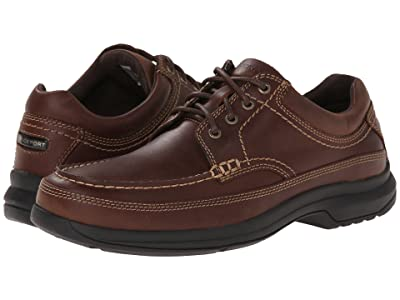 Rockport Barrow Loft Banni (Dark Tan Leather) Men