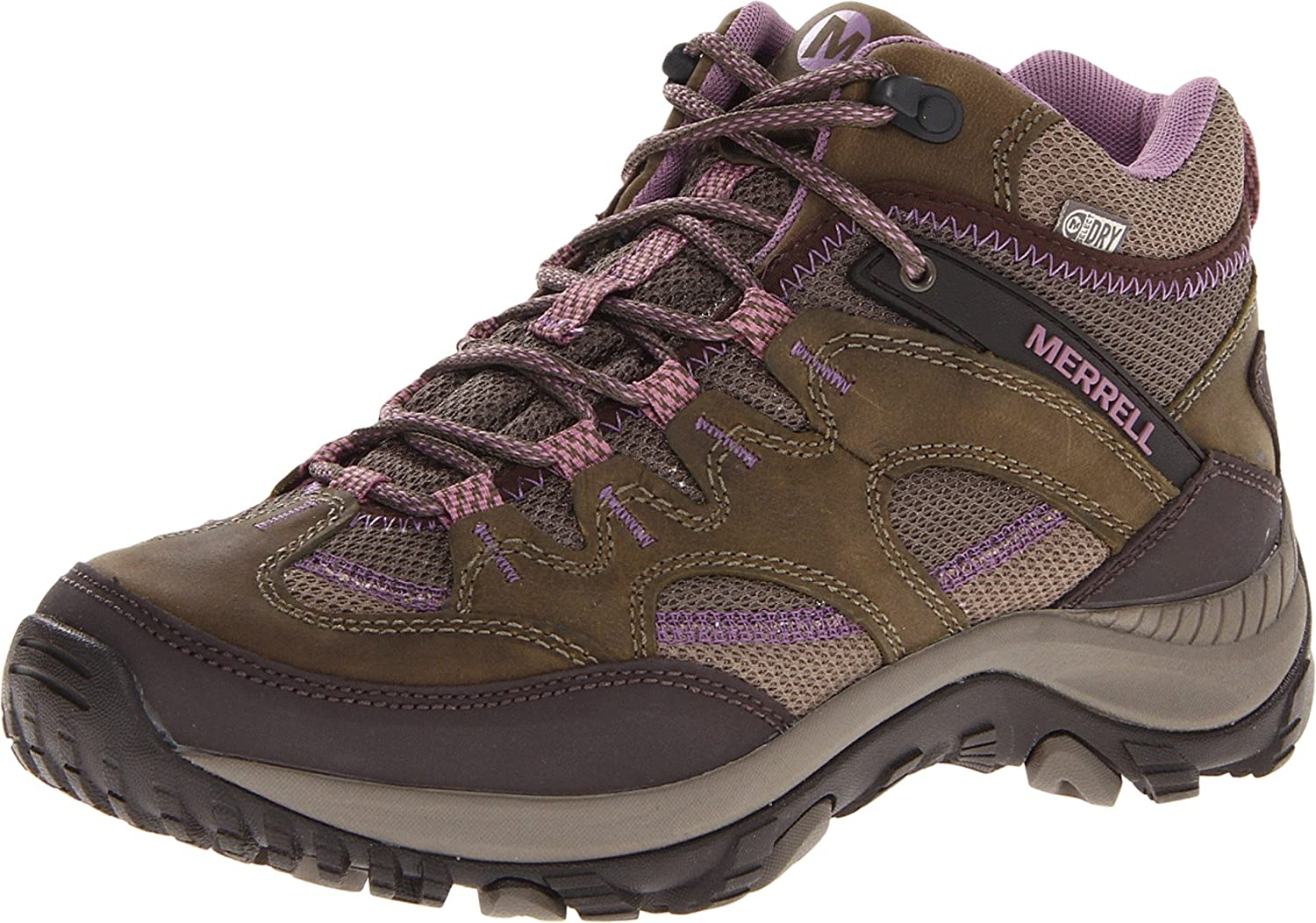 Merrell Women's Salida Mid WTPF Ankle Boot Brown