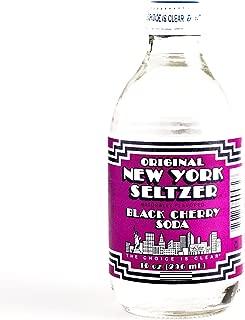 Black Cherry Original New York Seltzer 10 oz each (6 Items Per Order)