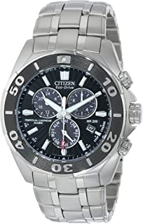 Citizen Mens Eco-Drive Signature Chronograph Watch with Perpetual Calendar, BL5440-58E