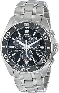 Citizen Men's Eco-Drive Signature Chronograph Watch with Perpetual Calendar, BL5440-58E