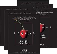 MCS Format Frame, 8 x 10 in, Black, 6 Count