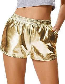 Amazon.fr : Or - Shorts et bermudas / Femme
