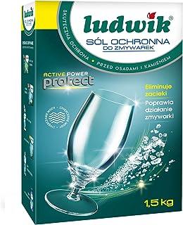 ملح الحماية لغسالات الاطباق من لودفيك - 1.5 كجم