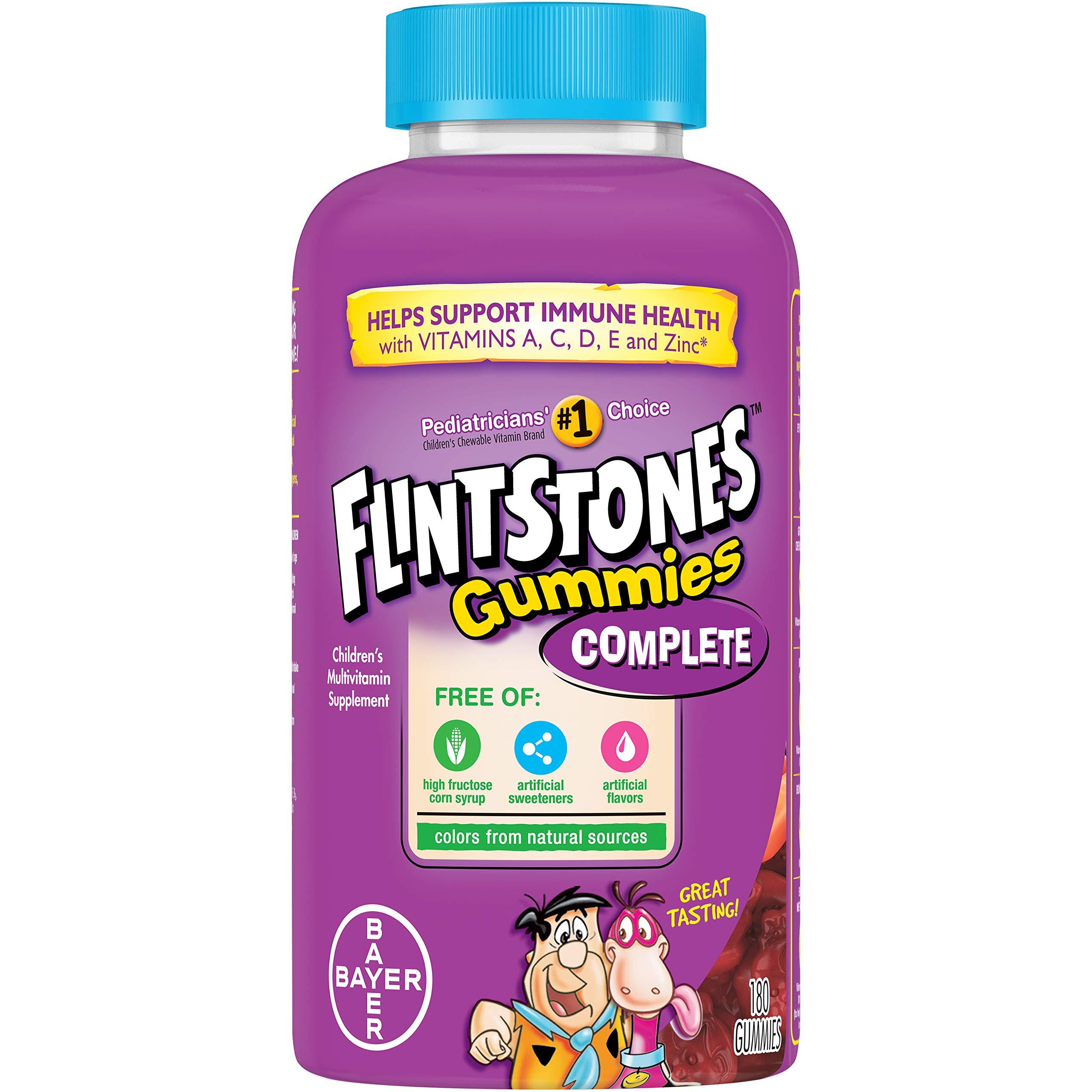 Flintstones Childrens Complete Multivitamin Gummies