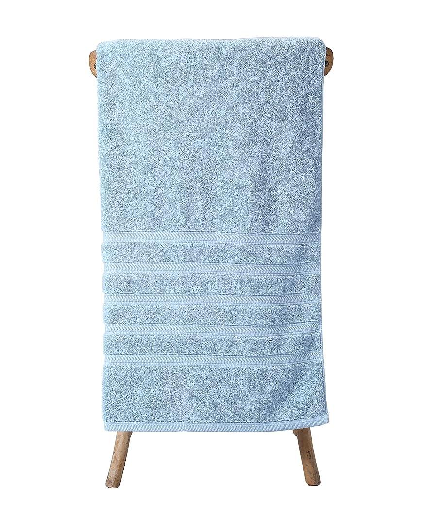 屋内でポジションスカルクmetrekey Luxury 35?X 70インチOversized Extra Large 100?%コットン厚さ吸収性1000グラムバスタオル ブルー Blue