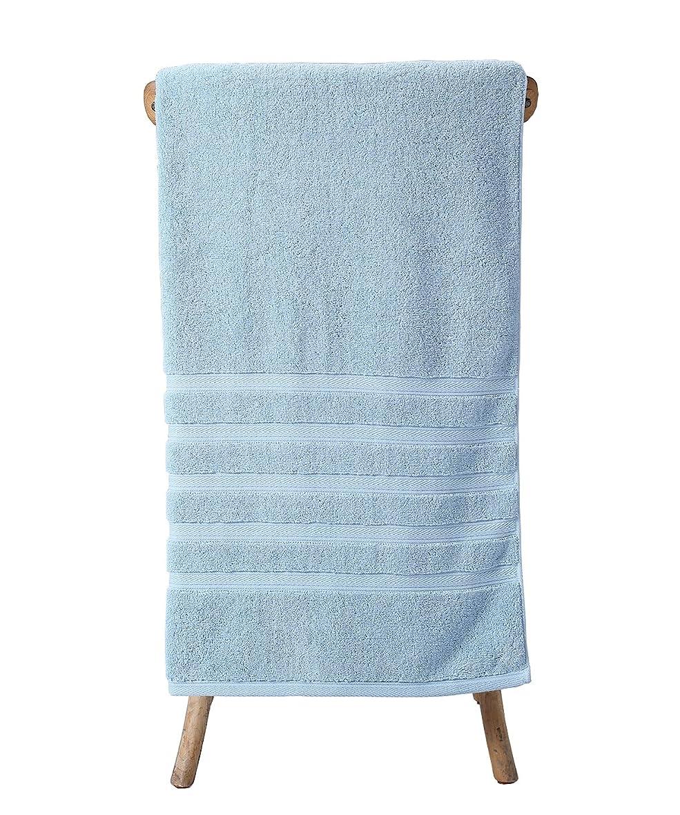 章ベンチャー鮫metrekey Luxury 35?X 70インチOversized Extra Large 100?%コットン厚さ吸収性1000グラムバスタオル ブルー Blue