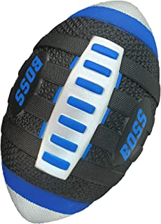 "LMC Products BOSS Foam Football. Easy to Grip Kids Football, Soft Mini Football for Kids and Adults. 9"" x 5.25"" Blue Footb..."