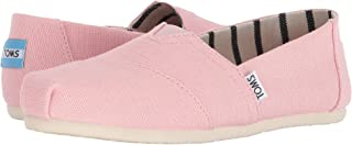 TOMS Women's The Venice Collection Shoes Powder Pink Heritage Canvas 10
