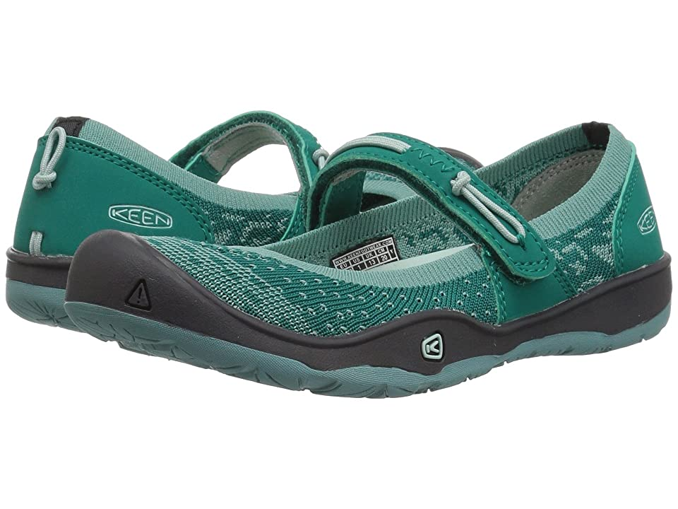 Keen Kids Moxie Mary Jane (Little Kid/Big Kid) (Wasabi/Parasailing) Girl