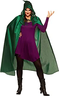 Spirit Halloween Adult Winifred Sanderson Hocus Pocus Cape | Officially Licensed Green