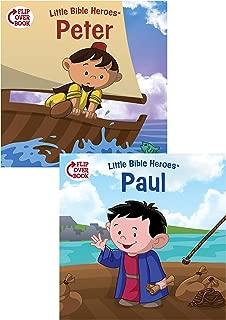 Peter/Paul Flip-Over Book (Little Bible Heroes™)