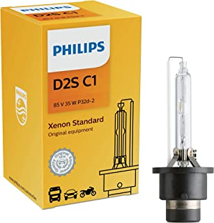 Philips D2S  Standard Authentic Xenon HID Headlight Bulb, 1 Pack