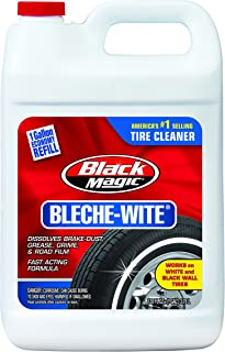 Black Magic 800002222 Bleche-Wite Tire Cleaner, 1 Gallon