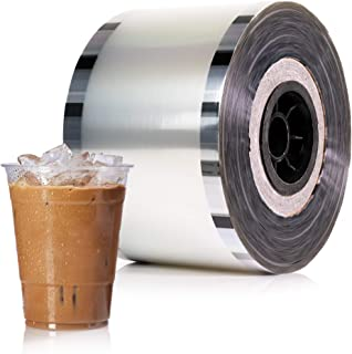 WYZworks Cup Sealer Film - Bubble Boba Tea Sealing Clear PP type 3275 cups @ 90mm-105mm