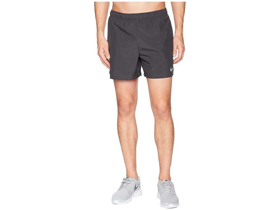 Nike Challenger 5 Running Short (Anthracite/Anthracite/Anthracite) Men