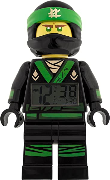 ClicTime Mini Figure Ninjago Movie Lloyd Minifigure Alarm Clock