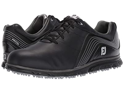 FootJoy Pro SL Spikeless (Black/Charcoal) Men