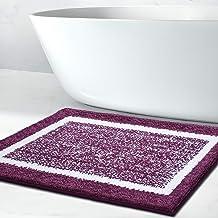 Bathroom Rug Mat, Ultra Soft and Water Absorbent Bath Rug, Bath Carpet, Machine Wash/Dry, for Tub, Shower, and Bath Room, ...