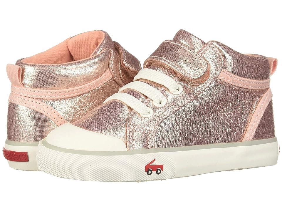 See Kai Run Kids Peyton (Toddler/Little Kid) (Rose Shimmer) Girls Shoes