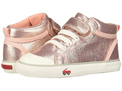 See Kai Run Kids Peyton (Toddler/Little Kid) (Rose Shimmer) Girls Shoes