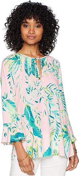 Willa Flounce Sleeve Top