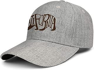 Unisex Baseball CapCalifornia Grizzly Adjustable FitsCasual Fit Trucker Snapback Baseball caps